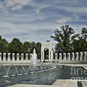 World War 2 Memorial Art Print