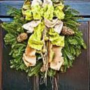 Wreath 30 Art Print