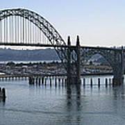 Yaquina Bay Bridge - Newport Oregon Art Print by Daniel Hagerman