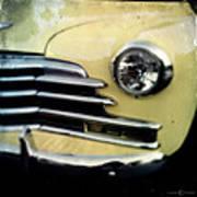 Yellow Chevrolet Art Print