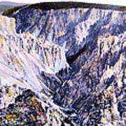 Yellowstone Canyon Yellowstone Np Art Print