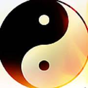Yin And Yang 3 Art Print