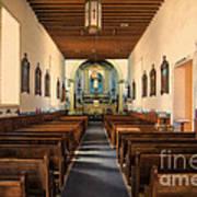 Ysleta Mission Of El Paso Texas Art Print