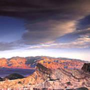 Zabriskie Point Death Valley Art Print