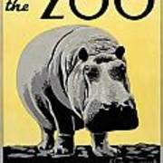 Zoo Poster C1936 Art Print