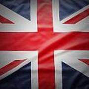 British Flag 17 Art Print