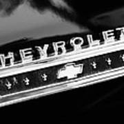 Chevrolet Emblem Art Print