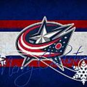 Columbus Blue Jackets Art Print
