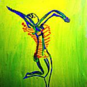 Dinka Dance - South Sudan Art Print