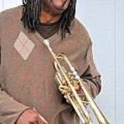 Jazz Musician. Art Print