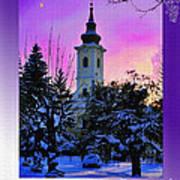 Christmas Card 23 Art Print