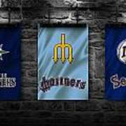 Seattle Mariners Art Print