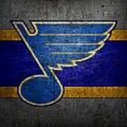 St Louis Blues Art Print