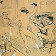 Toulouse-lautrec, Henri De 1864-1901 Art Print by Everett