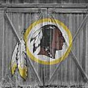 Washington Redskins Art Print