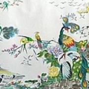 100 Birds Art Print
