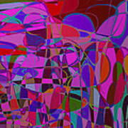 1017 Abstract Thought Art Print