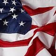 American Flag 34 Art Print