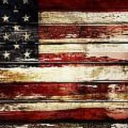 American Flag 33 Art Print