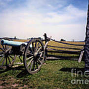 10th Mass Battery - Gettysburg Art Print