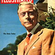1950s Uk Illustrated Magazine Cover Art Print