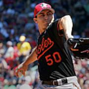 Baltimore Orioles V Boston Red Sox - Art Print