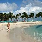 Beach At Coco Cay Art Print