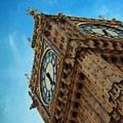 Big Ben Closeup Art Print