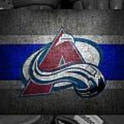 Colorado Avalanche Art Print