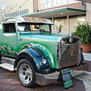Custom Truck Art Print