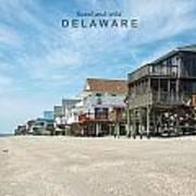 Delaware Art Print