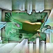 #11 Elusivenudescape 2003 Art Print
