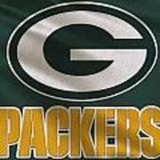 Green Bay Packers Uniform Art Print