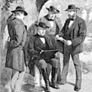 Jefferson Davis (1808-1889) Art Print