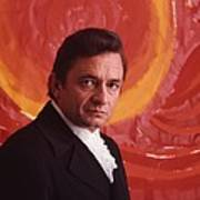 Johnny Cash Art Print by Retro Images Archive