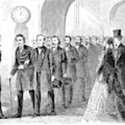Johnson Impeachment, 1868 Art Print