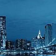 Manhattan Downtown Art Print