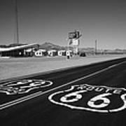 Route 66 Shield Art Print