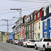 Saint John's. Newfoundland. Art Print