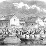 Second Opium War, 1860 Art Print