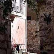 Views Of Taormina Sicily Art Print