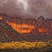 Zion National Park Utah Art Print