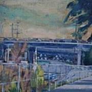 110 Freeway South II Art Print
