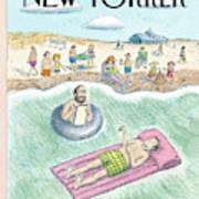 New Yorker August 7th, 2006 Art Print