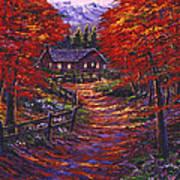1133 Friendly House Art Print