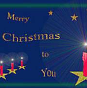 117 - Christmas Card Art Print