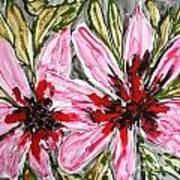 Mann Flowers Art Print