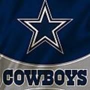 Dallas Cowboys Uniform Art Print