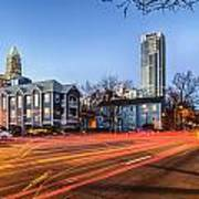Early Morning In Charlotte Nc Art Print