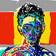 Face Art Print by Moshfegh Rakhsha